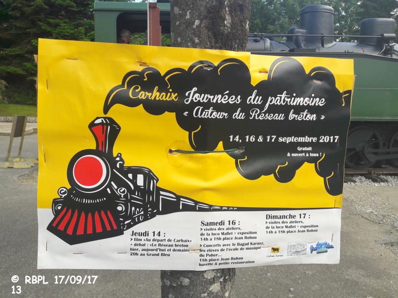 """BALADE A CARHAIX 17/09/17 (5)CARHAIX : LA """"VENERABLE MALLET""""T030+030T 20170544"""