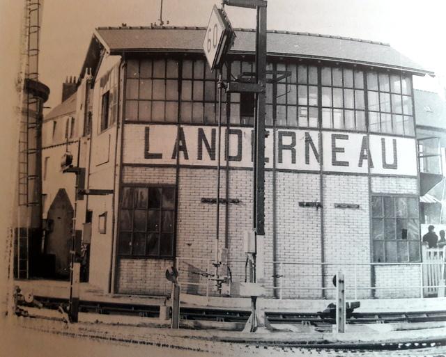 « De la vapeur au TGV » : le train dans le pays de Landerneau et de  Daoulas 20170979