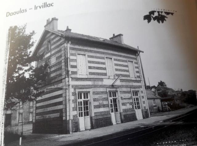 « De la vapeur au TGV » : le train dans le pays de Landerneau et de  Daoulas 20170982