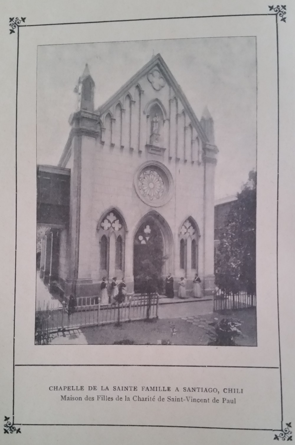 RARISSIME : l'état des congrégations catholiques de France en 1904 Chapel10