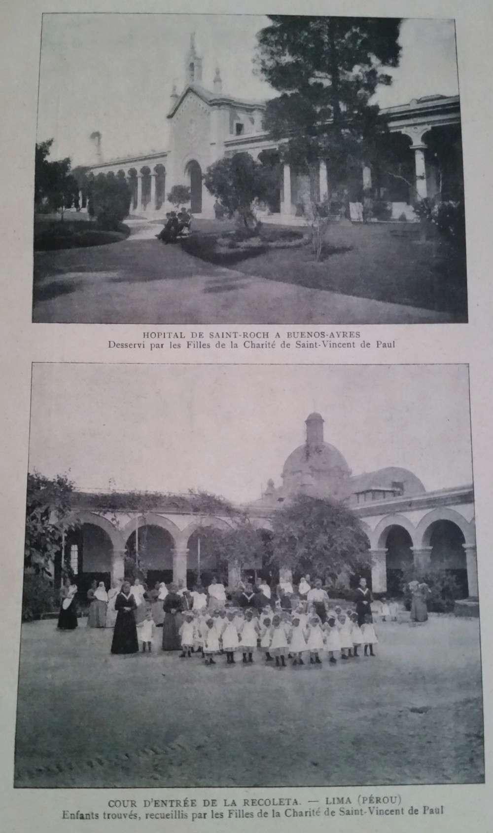 RARISSIME : l'état des congrégations catholiques de France en 1904 Hopita10