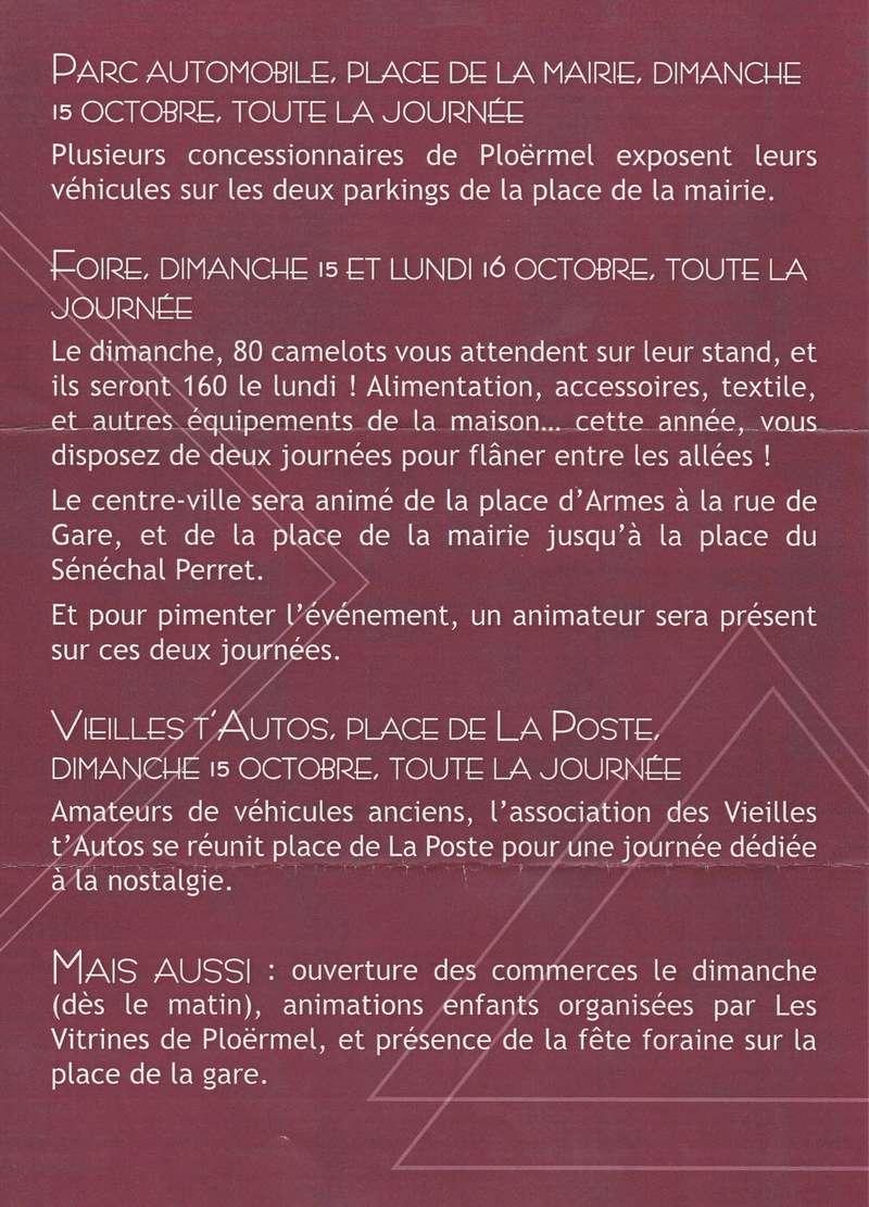 DIMANCHE 15 OCTOBRE 2017    FOIRE ST DENIS DE PLOERMEL  Img_2012