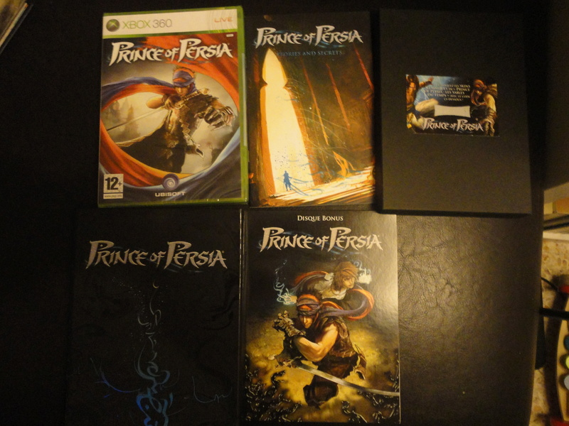 Prince of Persia collector 360 Dsc01610