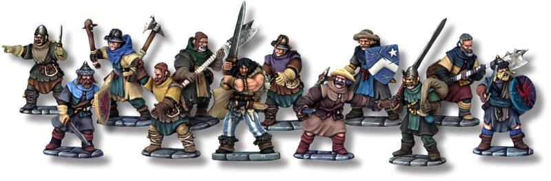 Frostgrave: Présentation du jeu et galerie de Winterfell 356610