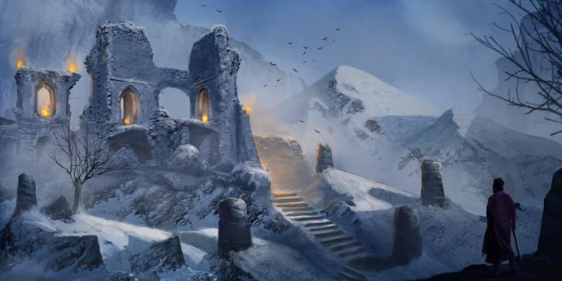 Frostgrave: Présentation du jeu et galerie de Winterfell 7upun210