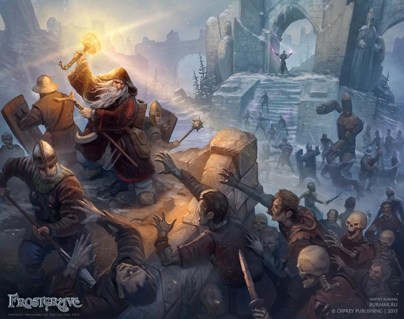 Frostgrave: Présentation du jeu et galerie de Winterfell Frostg10