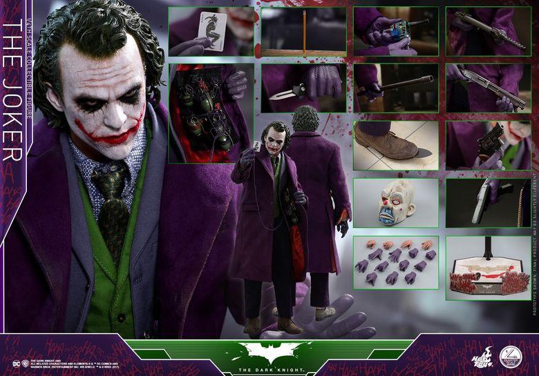 Batman / Joker - The Dark Night 1/4 (Hot Toys) 01530610