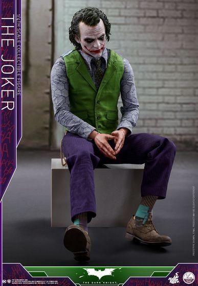 Batman / Joker - The Dark Night 1/4 (Hot Toys) 01532010