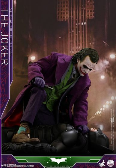 Batman / Joker - The Dark Night 1/4 (Hot Toys) 01533910