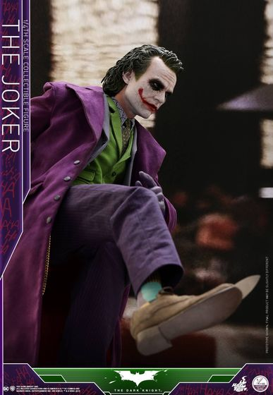 Batman / Joker - The Dark Night 1/4 (Hot Toys) 01534310