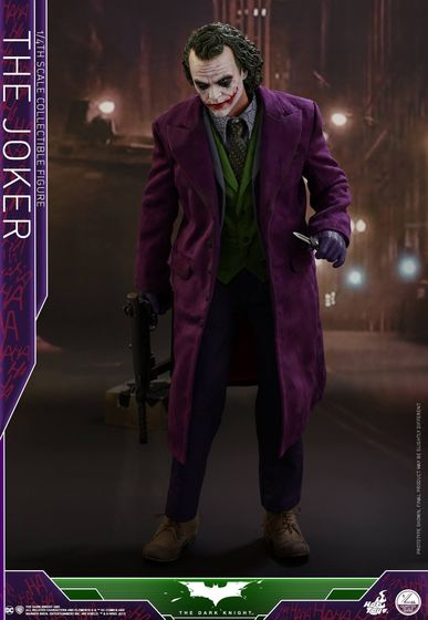 Batman / Joker - The Dark Night 1/4 (Hot Toys) 01535310