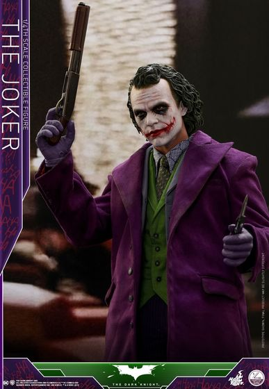 Batman / Joker - The Dark Night 1/4 (Hot Toys) 01535710