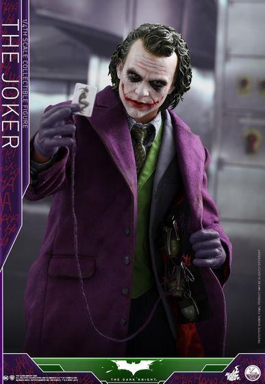 Batman / Joker - The Dark Night 1/4 (Hot Toys) 01543610