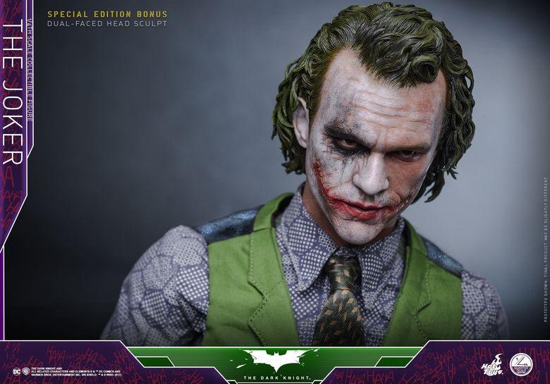Batman / Joker - The Dark Night 1/4 (Hot Toys) 01551110