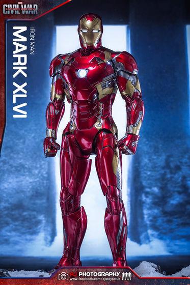 Iron Man Mark XLVI (46) 1/6 - Captain America : Civil War (Hot Toys) 02073510