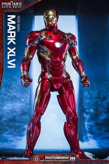 Iron Man Mark XLVI (46) 1/6 - Captain America : Civil War (Hot Toys) 02073910