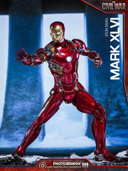 Iron Man Mark XLVI (46) 1/6 - Captain America : Civil War (Hot Toys) 02074510