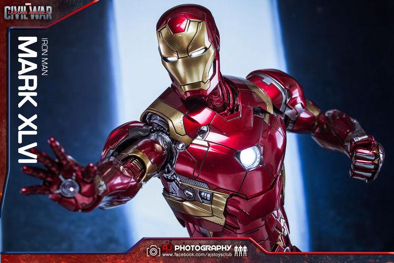 Iron Man Mark XLVI (46) 1/6 - Captain America : Civil War (Hot Toys) 02074610