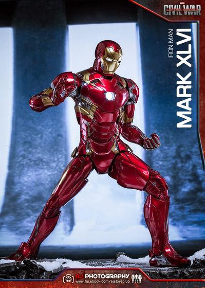 Iron Man Mark XLVI (46) 1/6 - Captain America : Civil War (Hot Toys) 02074710