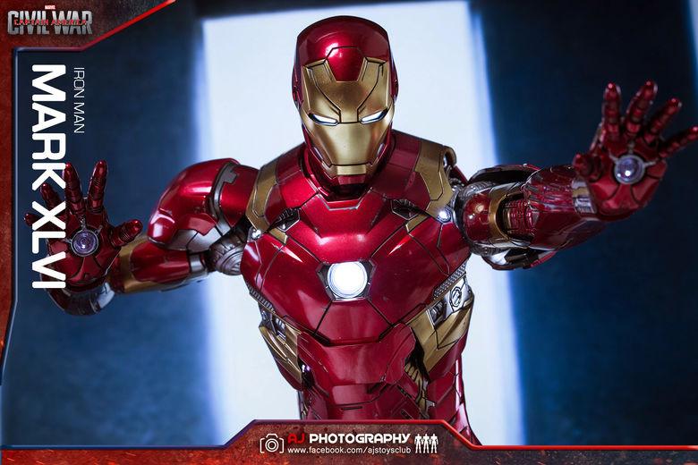 Iron Man Mark XLVI (46) 1/6 - Captain America : Civil War (Hot Toys) 02075010