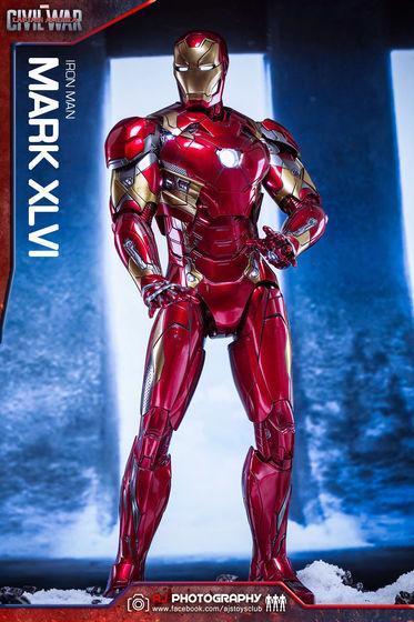 Iron Man Mark XLVI (46) 1/6 - Captain America : Civil War (Hot Toys) 02075510