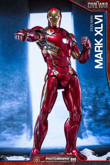 Iron Man Mark XLVI (46) 1/6 - Captain America : Civil War (Hot Toys) 02075610