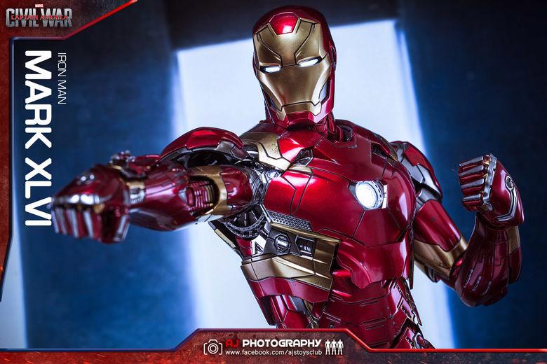 Iron Man Mark XLVI (46) 1/6 - Captain America : Civil War (Hot Toys) 02075710