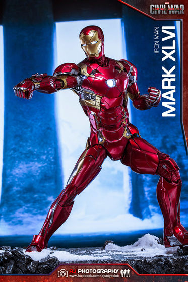 Iron Man Mark XLVI (46) 1/6 - Captain America : Civil War (Hot Toys) 02075810