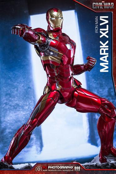 Iron Man Mark XLVI (46) 1/6 - Captain America : Civil War (Hot Toys) 02075910