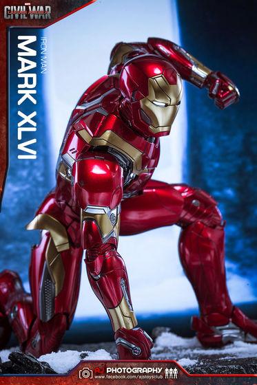 Iron Man Mark XLVI (46) 1/6 - Captain America : Civil War (Hot Toys) 02080010