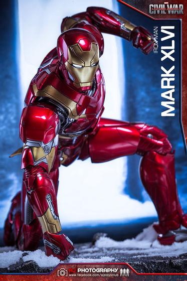 Iron Man Mark XLVI (46) 1/6 - Captain America : Civil War (Hot Toys) 02080011