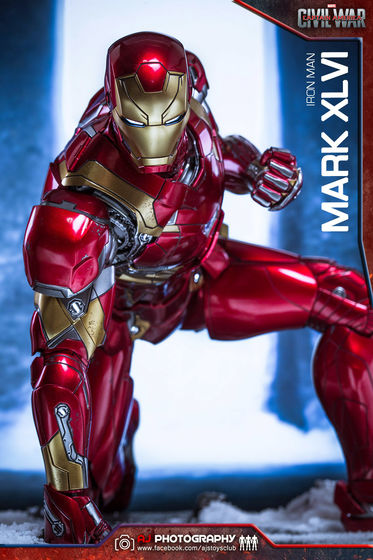 Iron Man Mark XLVI (46) 1/6 - Captain America : Civil War (Hot Toys) 02080110