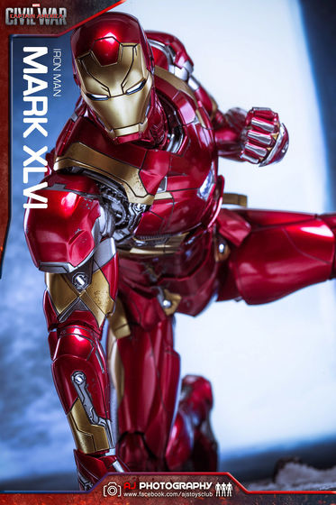 Iron Man Mark XLVI (46) 1/6 - Captain America : Civil War (Hot Toys) 02080210