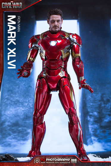 Iron Man Mark XLVI (46) 1/6 - Captain America : Civil War (Hot Toys) 02080310