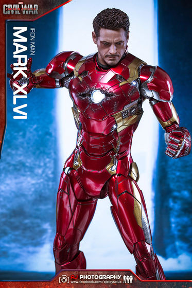 Iron Man Mark XLVI (46) 1/6 - Captain America : Civil War (Hot Toys) 02085410