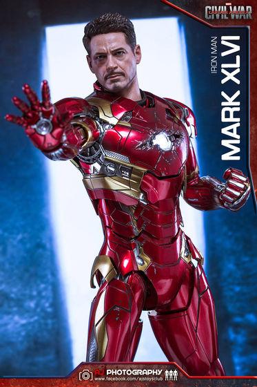 Iron Man Mark XLVI (46) 1/6 - Captain America : Civil War (Hot Toys) 02085510
