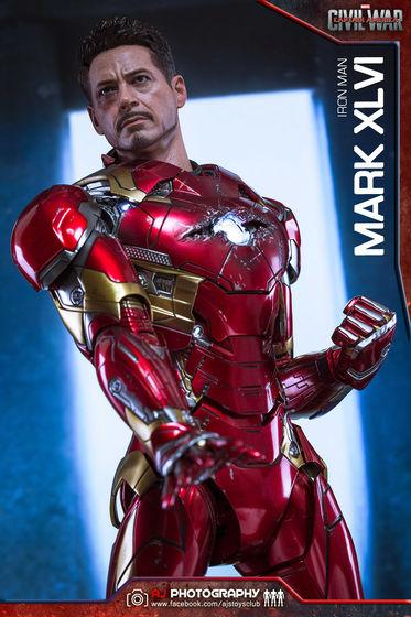 Iron Man Mark XLVI (46) 1/6 - Captain America : Civil War (Hot Toys) 02090410