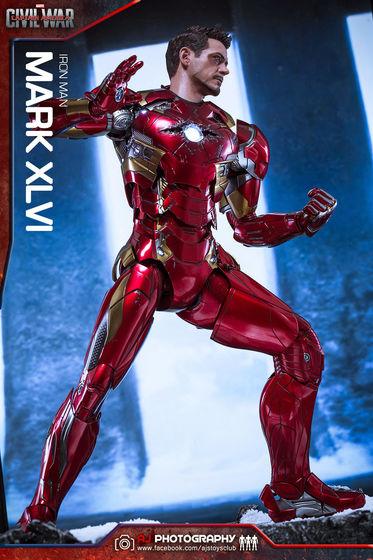 Iron Man Mark XLVI (46) 1/6 - Captain America : Civil War (Hot Toys) 02090610
