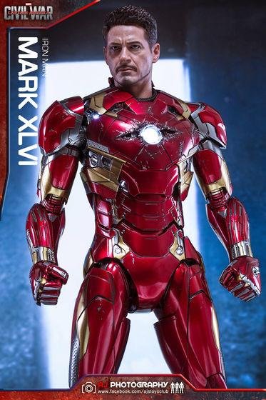 Iron Man Mark XLVI (46) 1/6 - Captain America : Civil War (Hot Toys) 02090710