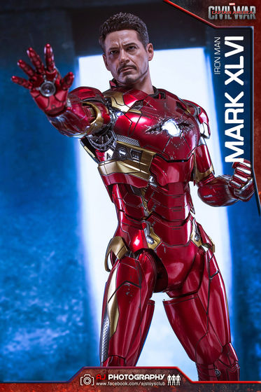 Iron Man Mark XLVI (46) 1/6 - Captain America : Civil War (Hot Toys) 02090810