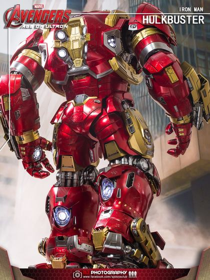 Avengers Age of Ultron - HulkBuster JackHammer Mark 44 1/6 (Hot Toys) 03411711