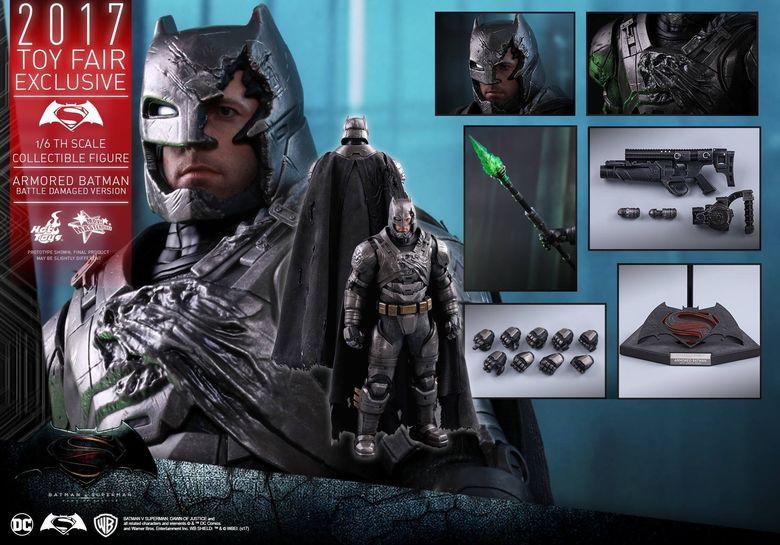 Armored Batman Battle Damaged 1/6 - 2017 Toy Fair Exclusive (Hot Toys) 13192710