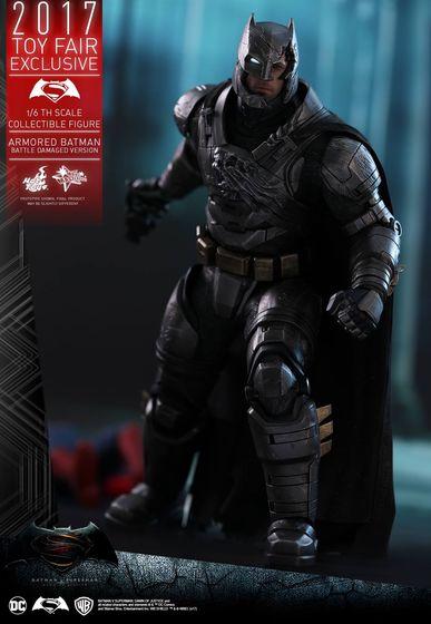Armored Batman Battle Damaged 1/6 - 2017 Toy Fair Exclusive (Hot Toys) 13193710