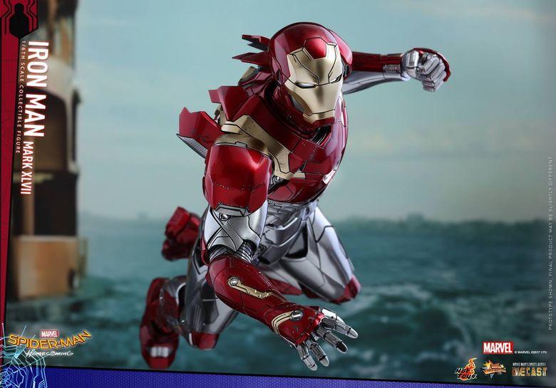 Spider-Man Homecoming - Iron Man Mark XLVII Diecast 1/6 (Hot toys) 14544910