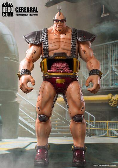 Teenage Mutant Ninja Turtles -  Cerebral Krang (Boss) 1/6 (HeroClub) 15112510