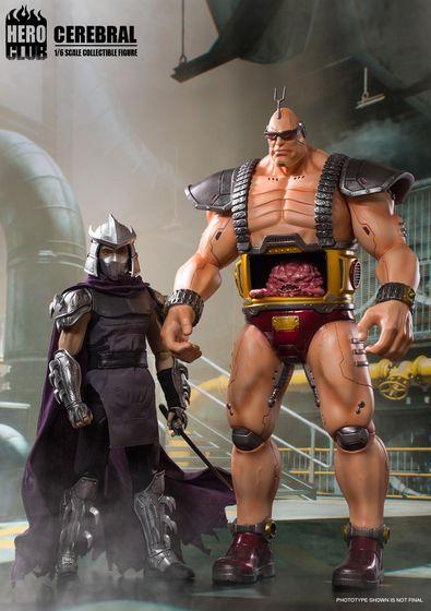 Teenage Mutant Ninja Turtles -  Cerebral Krang (Boss) 1/6 (HeroClub) 15112615