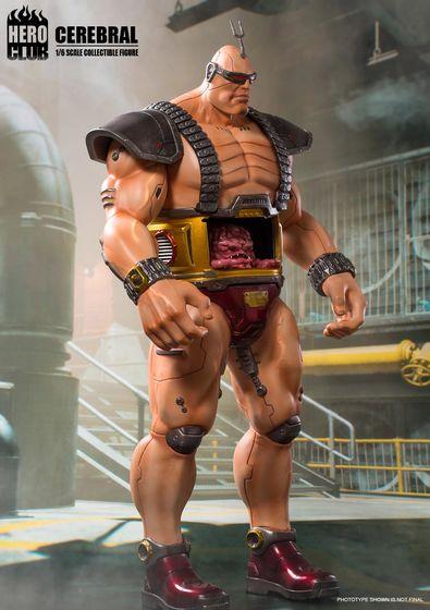 Teenage Mutant Ninja Turtles -  Cerebral Krang (Boss) 1/6 (HeroClub) 15112616