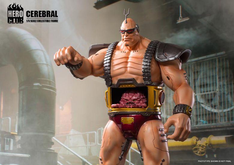 Teenage Mutant Ninja Turtles -  Cerebral Krang (Boss) 1/6 (HeroClub) 15112710