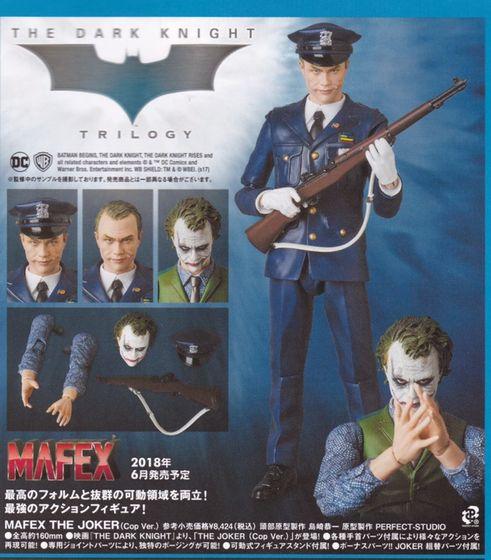 Batman The Dark Knight : Joker Ver.2.0 Mafex (Medicom Toys) 18231811