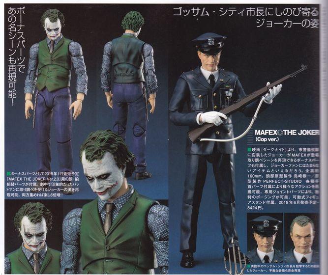 Batman The Dark Knight : Joker Ver.2.0 Mafex (Medicom Toys) 18231910